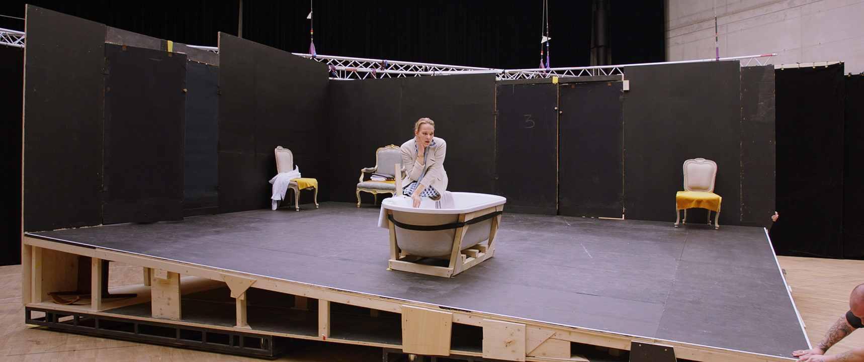 Backstage Wiener Staatsoper