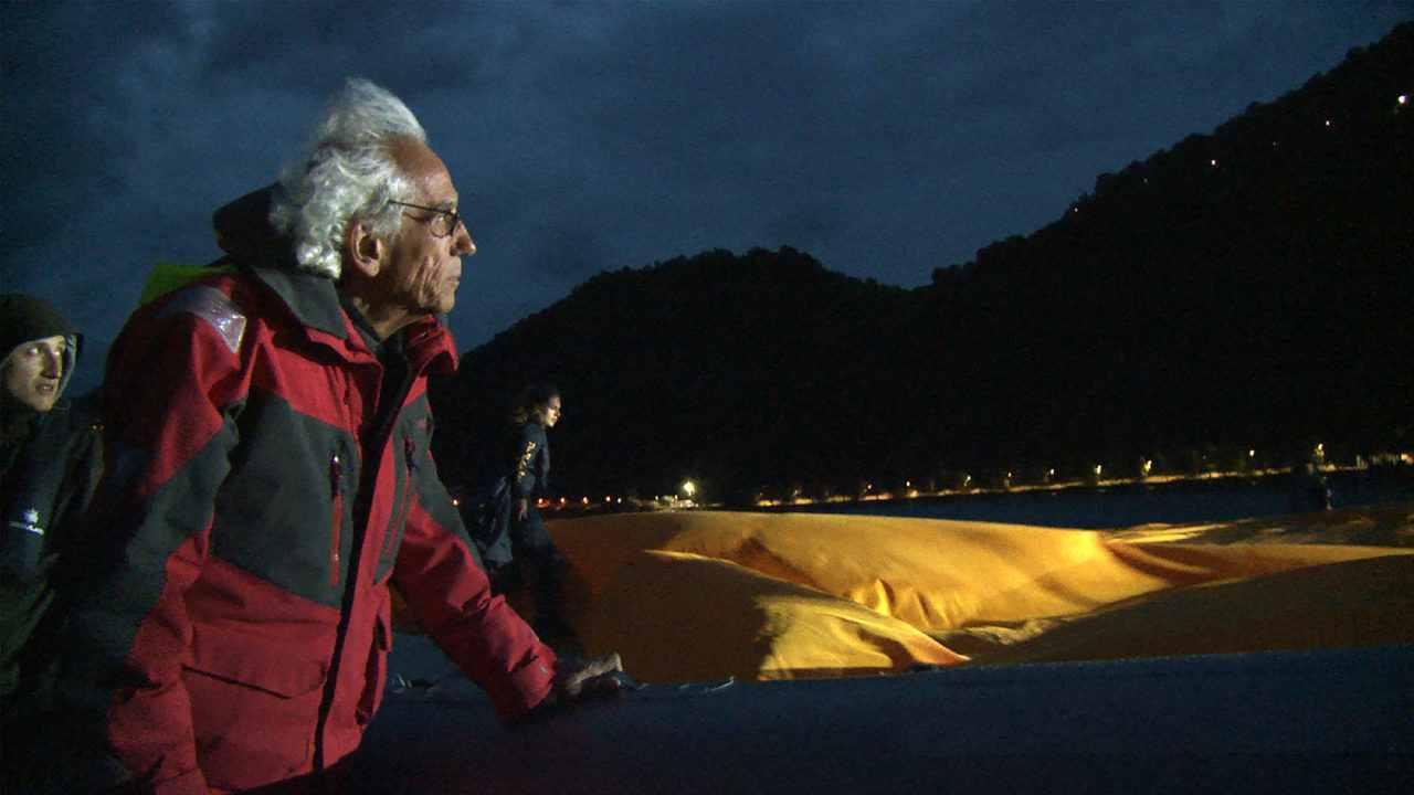 Christo: Walking on Water