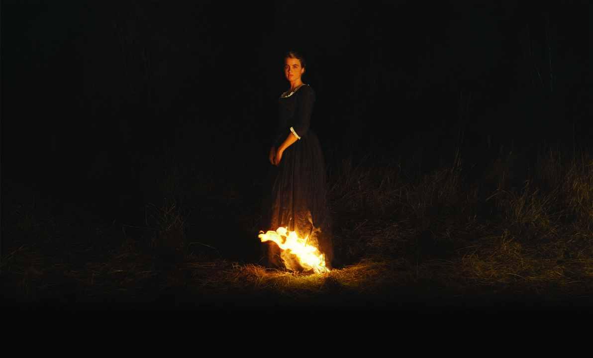 Porträt einer jungen Frau in Flammen – Nacht der Programmkinos